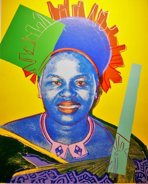 Andy Warhol, 'Reigning Queens, Queen Ntombi Twala of Swaziland (F.S. II. 347)', 1985, Verosa