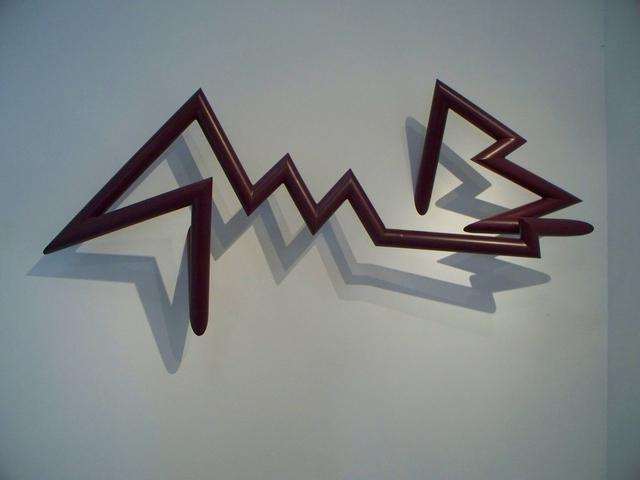 , 'PTTSAAES 9-09a, boysenberry,' 2009, Michael Warren Contemporary