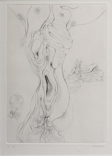 , 'A Sade #7,' 1961, Hieronymus
