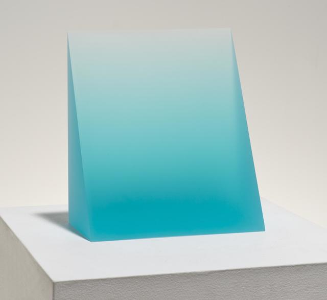 , 'Untitled, Turquoise Wedge,' 2015, NYEHAUS