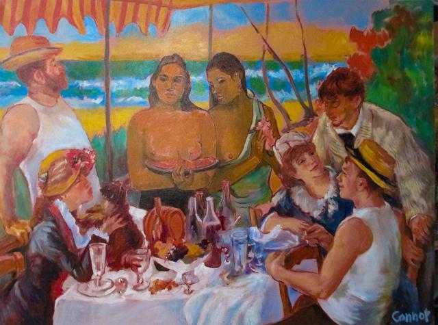 , 'Club Tahiti (after Gauguin, Renoir),' , LatchKey Gallery