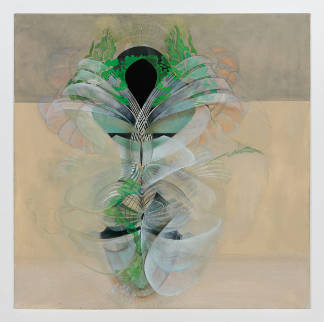 , 'Mid-Spectrum, Burn,' 2019, Mark Moore Fine Art
