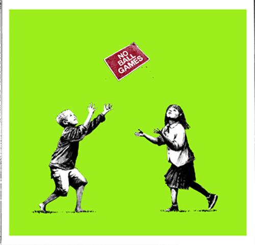 Banksy, 'No Ball Games', 2008, Contemporary Art Trader