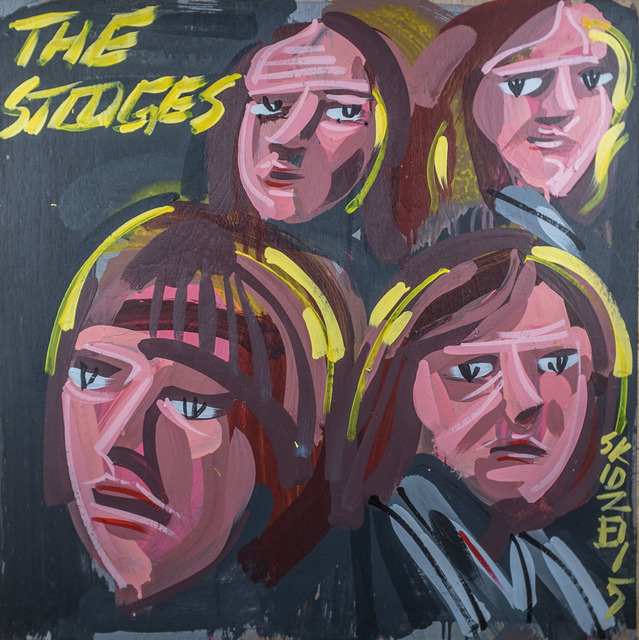 Steve Keene, 'The Stooges', 2015, Subliminal Projects