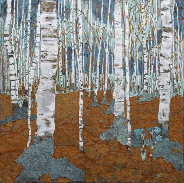 Piet van den Boog, 'Piet Birch Forest ', 2019, Zemack Contemporary Art