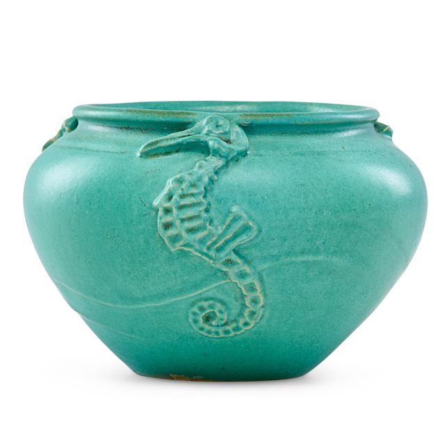 Joseph Meyer, 'Vase with seahorses', ca. 1900, Rago