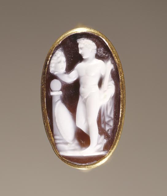 'Cameo Gem set into a Ring',  25 B.C. -A.D. 25, J. Paul Getty Museum