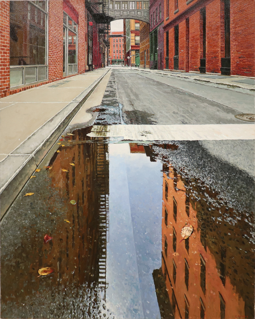 , 'Morning Reflection Staple Street Reflection,' 2019, Gallery Henoch