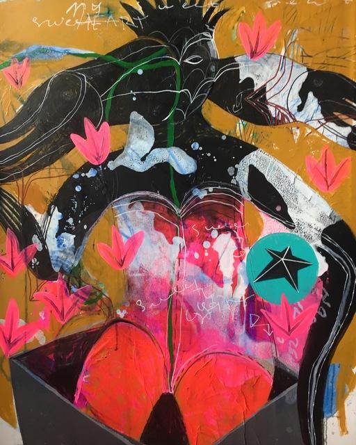 Rusudan Khizanishvili, 'A Falling Star', 2018, ERTI