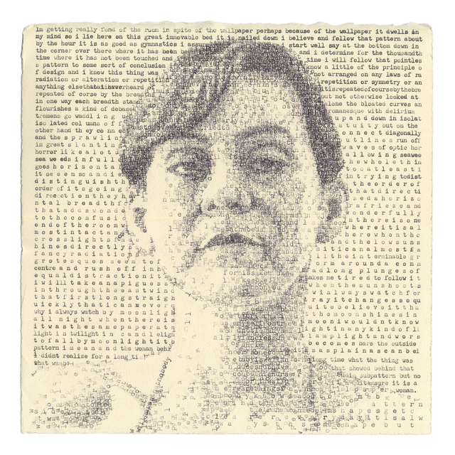 Leslie Nichols Mary Gilman 1892 Excerpts From The Yellow Wallpaper By Charlotte Perkins Gilman 2019 Available For Sale Artsy