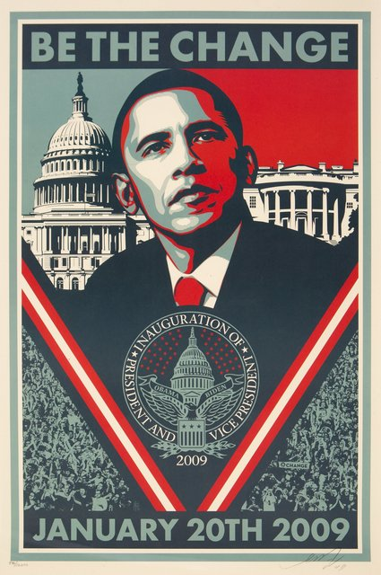 Shepard Fairey, 'Inaugaration Print', 2009, Heritage Auctions
