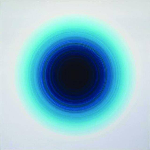 , 'Turquoise Green Violet Pulse Harmonic,' 2012, Galería Hilario Galguera