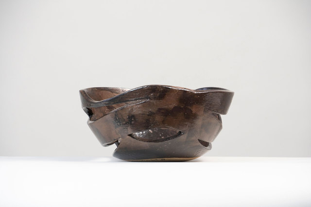 ", 'Ceramic Centerpiece by Claire de Lavallee ""Celestial Basket"",' 2018, Valerie Goodman Gallery"