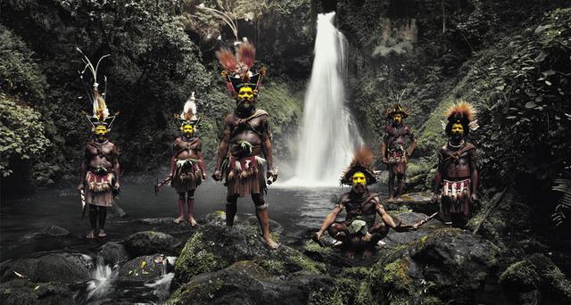 , 'Tumbu, Hangu, Peter, Hapiya, Kati, Hengene & Steven,' 2010, CAMERA WORK