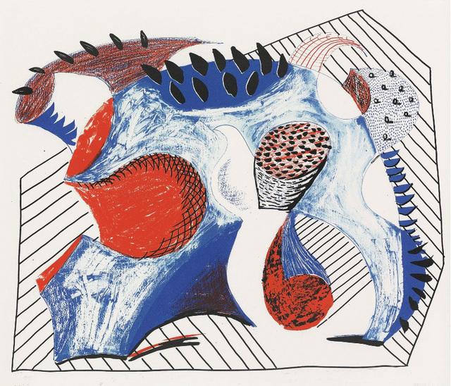 David Hockney, 'Untitled for Joel Wachs', 1993, Kenneth A. Friedman & Co.