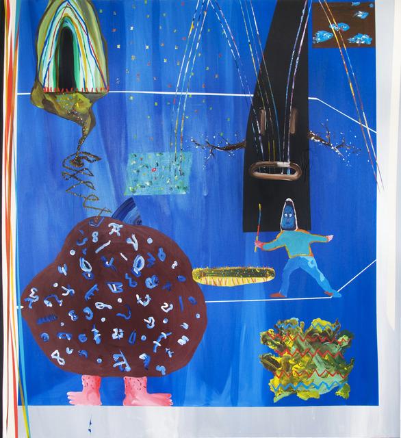 , 'Bleu Silence D'or,' 2013, Galerie Dominique Bouffard