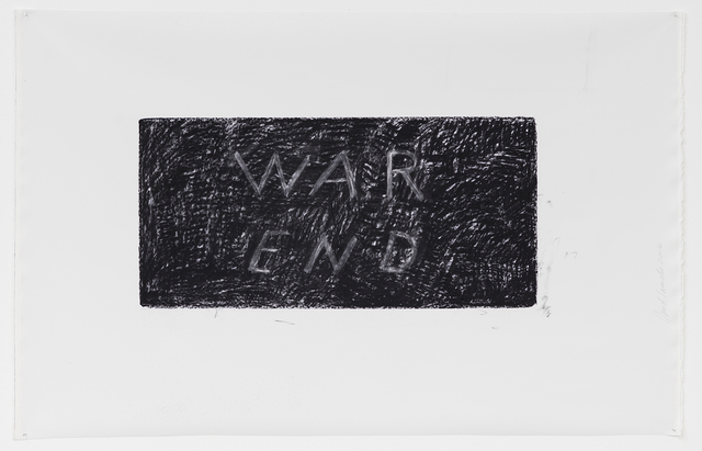 , 'War End,' 2016, Sprüth Magers