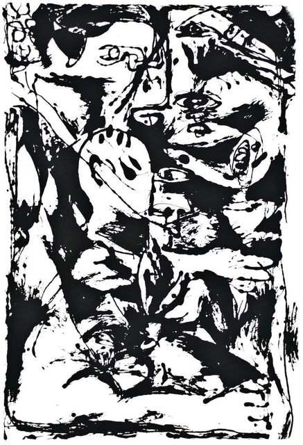 Jackson Pollock, 'Untitled - Expression no. 2', 1964, Wallector