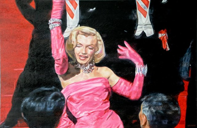 robert lemay, 'Gentlemen Prefer Blondes', 2017, The Front Gallery