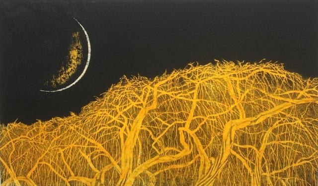 , 'New Moon Weeping Cherry Tree - yellow,' , Wetpaint Gallery