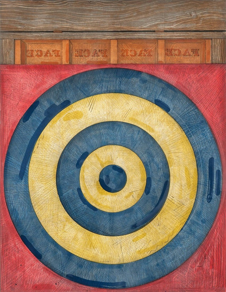 essays about jasper johns Jasper johns, regrets, 2013, oil on canvas, 127 x 1829 cm photograph: pr two out of three are gone now rauschenberg died in 2008, twombly in 2011 only jasper johns.