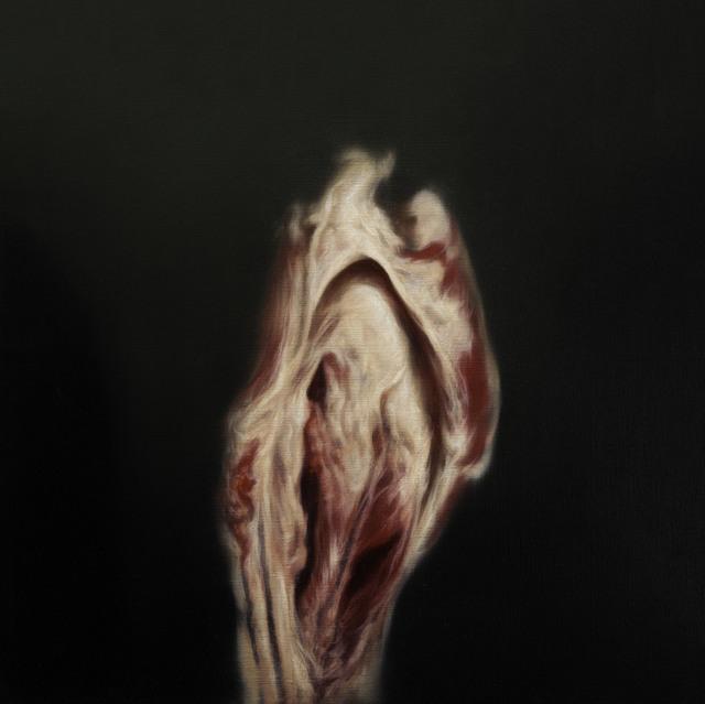 , 'Study (Portrait Head) 1,' 2014, Flowers