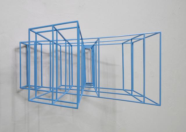 , 'Wing #2 (metallic light blue)  ,' 2019, The Flat - Massimo Carasi