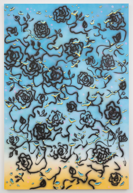 , 'All Existence has a Golden Sheen,' 2015, Castor Gallery