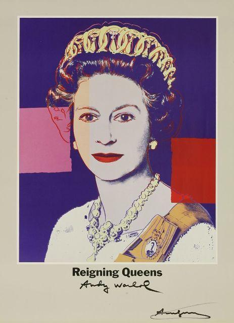 Andy Warhol, 'Reigning Queens', 1986, Sworders