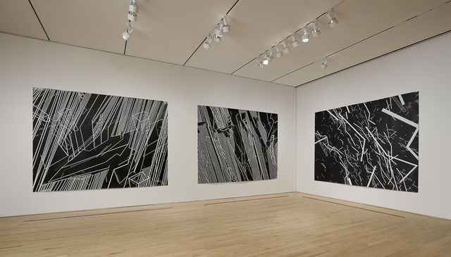 ", 'Conflict Space 3, Installation view ""Field Conditions"",' 2006, San Francisco Museum of Modern Art (SFMOMA)"
