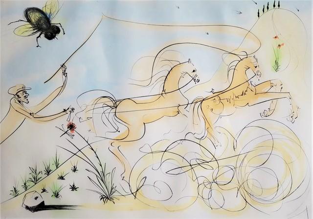 Salvador Dalí, 'Le Coche et le Mouche (The coach and the fly)', 1974, Graves International Art