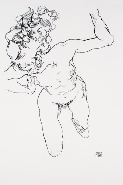Egon Schiele, 'Nude Lying Down [Handzeichnungen]', 1920, Jason Jacques Gallery