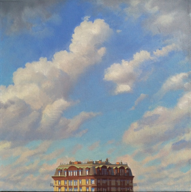 Ed Stitt, 'Clouds Over Building', 2015, Gallery NAGA