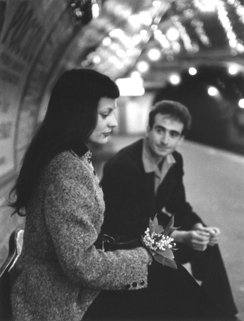 Robert Doisneau, 'Le muguet du Metro', 1953, Argentic