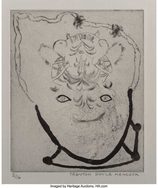 Trenton Doyle Hancock, 'Irribl, Happy Shtick, and Mommogram (three works)', 1998-99, Heritage Auctions