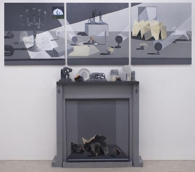 , 'Un rayo de luz entraba por la ventana,' 2014, La Fresh Gallery