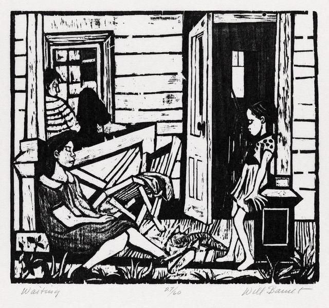 , 'Waiting,' 1937, Resource Art