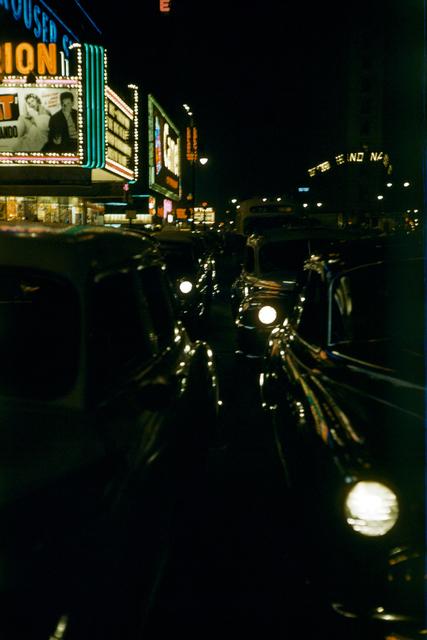, 'Cruising at Night #1, New York, USA,' 1953, David Hill Gallery