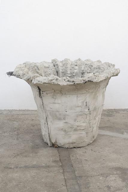 Mischa Sanders & Philipp Putzer, 'T #3', 2021, Sculpture, Concrete, clay, fiberglass, OH GALLERY