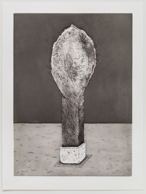 , 'Five Etchings (Object),' 2015, TIF SIGFRIDS