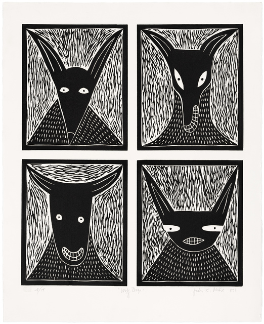 , 'Wolf Dogs,' 1991, Gallery NAGA