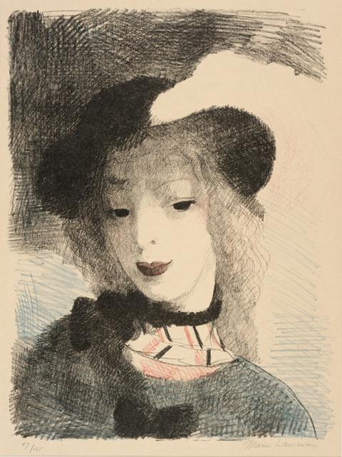 Marie Laurencin, 'Elvire', 1930, Print, Color lithograph, Dallas Museum of Art