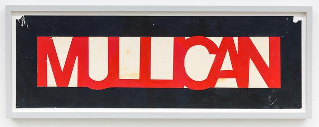 , 'Untitled (Bumper stickers),' 1977, Mai 36 Galerie