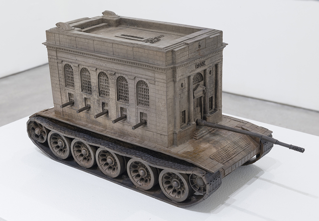 , 'Bank Tank,' 2016, Joshua Liner Gallery