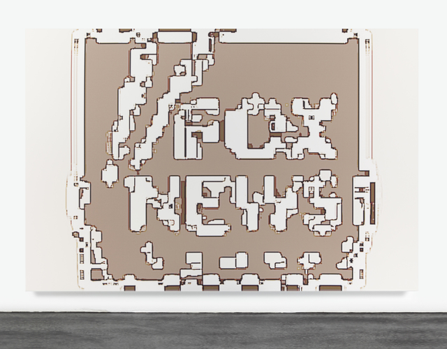 , 'Fox News HURT LOCKER,' 2014, Gagosian