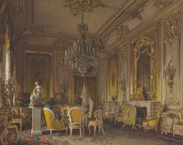 , 'Mansion of Baron A.L. Stieglitz. The Drawing-Room,' 1870 (?), The State Hermitage Museum