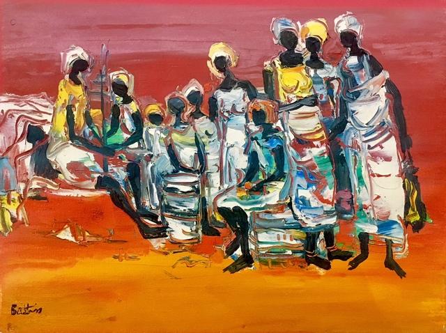 , 'African figures,' , Absolut Art Gallery
