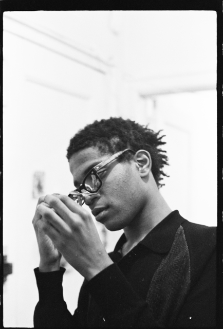 , 'Basquiat in the apartment (Glasses) XV,' ca. 1981, CaribBeing