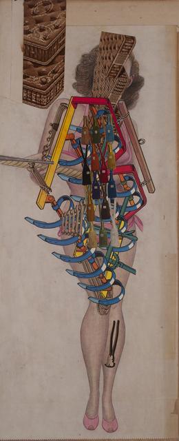 , 'Mechanical Girl - Plow,' 2015, Conduit Gallery