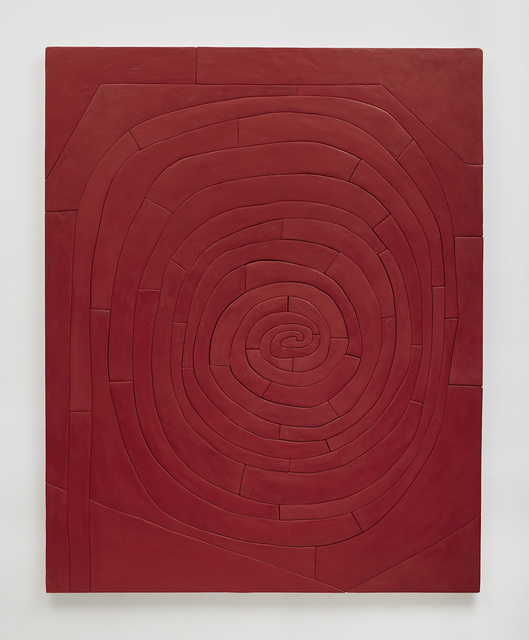 , 'Untitled Red Spiral,' 2015, Susanne Vielmetter Los Angeles Projects